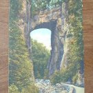 Vintage 1951 Natural Bridge Virginia Postcard