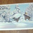 Vintage Winter at Skyland along Skyline Drive, Shenandoah National Park Virginia postcard