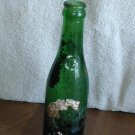 Vintage Green Glass Crass Pale Dry Soda Bottle