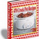 Crockpot Recipes cookbook ebook