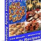 Delicious Candy Recipes cookbook ebook