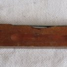 Vintage Wooden Firestone Level