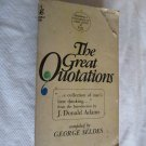The Great Quotations by George Seldes (1967) (BB10)