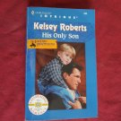His Only Son by Kelsey Roberts Harlequin Intrigue #535 (1999) (BB2)