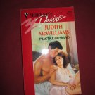 Practice Husband by Judith McWilliams Silhouette Desire #1062 (1997) (BB13)