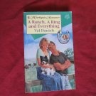 A Ranch, A Ring and Everything by Val Daniels Harlequin Romance #3418 (1996) (BB2)