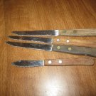 5 Stainless Steel Japan Wood Handle Steak Knives