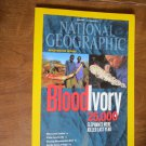 National Geographic Vol. 222, No. 4 October 2012 Blood Ivory 25,000 Elephants Killed Last Year