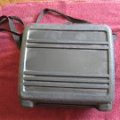 Black Hard Plastic Lunch Box