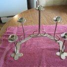 Adjustable Taper Candle Holder - Gold Tone