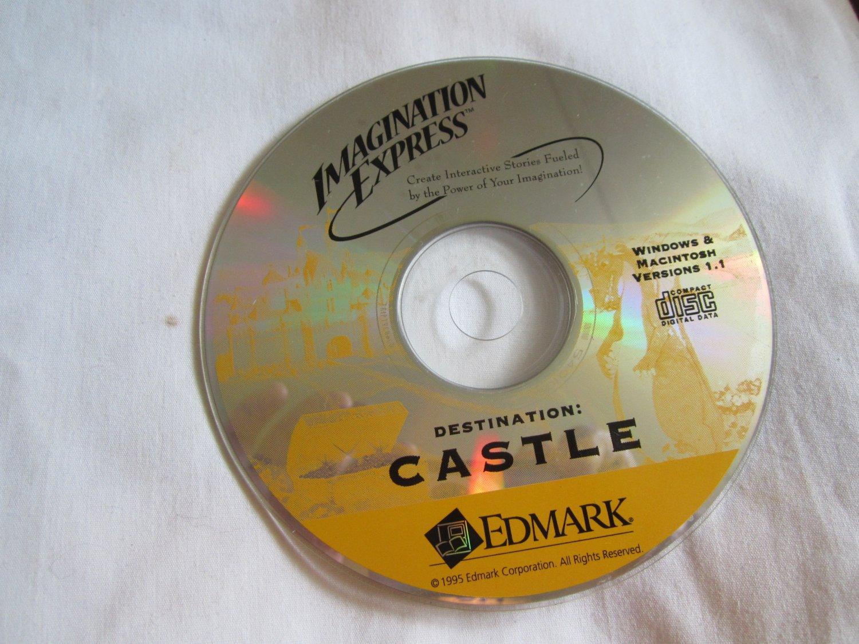 Imagination Express ~ Destination Castle CD ROMWindows / Macintosh Interactive Stories