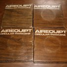Lot of 4 Airequipt Circular Magazine Slide Holders