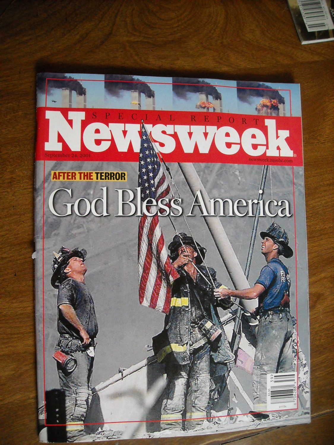 Newsweek Special Report September 2001 - After the Terror - God Bless America - 9/11 Report