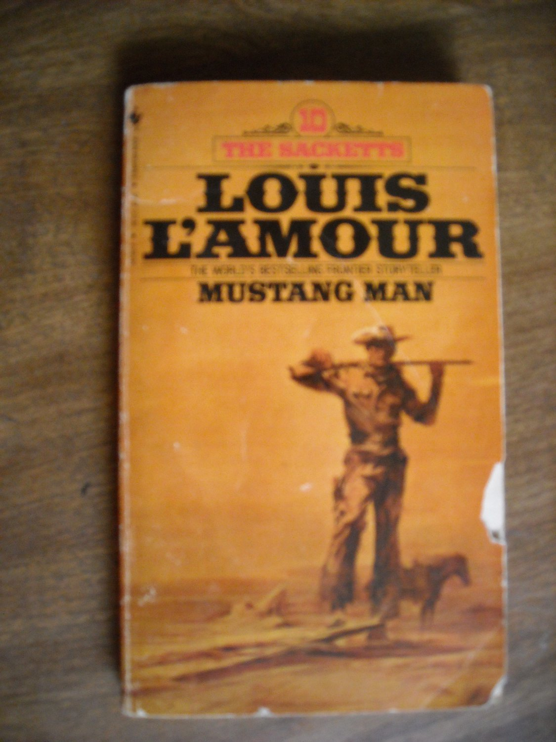 Mustang Man by Louis L'Amour The Sacketts 10 (1981) (BB61)