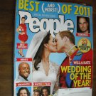 People Magazine Special Double Issue December 26, 2011 Vol 76 no 26 Will & Kate