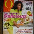The Oprah Magazine April 2012 volume 13 Number 4 Delicious