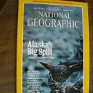 National Geographic Vol. 177, No. 1 January 1990 Alaska's Big Spill - Exxon  Valdez