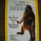 National Geographic Vol. 177, No. 4 April 1990 Vanishing Wildlife Berlin Wall