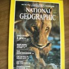 National Geographic Vol. 162, No. 6 December 1982 The Mediterranean  - Lions