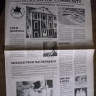 Caring For the Community Paper Stonewall Jackson Hospital 25 Anniversary (1979)