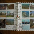 Commonwealth of Virginia Table Placemat - Domino Amstar Corp - no date