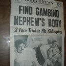 Daily News Vol 54 No 186 New York January 27 1973 Find Gambino Nephew's Body