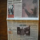 The Sun Front Section & D Monday October 7, 1991 Farewell to Memorial Stadium