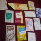 Vintage Missionary Tracts - 12 tracts and a letter