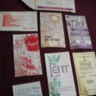 Vintage Missionary Tracts - 14 tracts and a letter