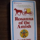 Rosanna of the Amish by Joseph W. Yoder (1973) (BB1)