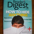 Reader's Digest Magazine April 2009 - How to Hide Anything
