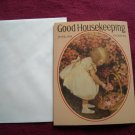 Good Housekeeping June, 1918 Greeting Card - Jessie Willcox Smith - girl picking flowers