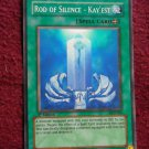 Yu-Gi-Oh Rod of Silence Kay'est DCR-036 Spell Card - YuGiOh 1st Edition (wtn908)