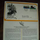 1980 Summer Olympic Games Postal Equestrian Rowing Commemorative Society First Day Cover Sheet 1980
