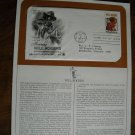 Honoring Will Rogers Commemorative Society First Day Cover Sheet 1979