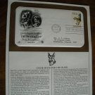 Guide Dog for the Blind The Seeing Eye Postal Commemorative Society First Day Cover Sheet 1979