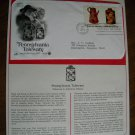 Pennsylvania Toleware 1979 Postal Commemorative Society First Day Cover Sheet