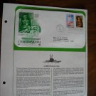 Season's Greetings Christmas 1984 Postal Commemorative Society First Day Cover