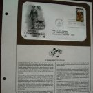 Saluting Crime Prevention 1984 Postal Commemorative Society First Day Cover