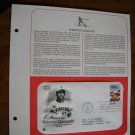 Honoring Roberto Clemente 1984 Postal Commemorative Society First Day Cover