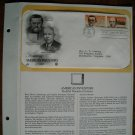 Honoring American Inventors 1983 Postal Commemorative Society First Day Cover Sheet