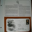 Honoring Nathaniel Hawthorne 1983 Postal Commemorative Society First Day Cover Sheet