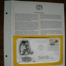 Volunteer Lend a Hand 1983 Postal Commemorative Society First Day Cover Sheet
