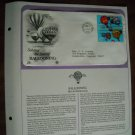 Saluting the Sport of Ballooning 1983 Postal Commemorative Society First Day Cover Sheet