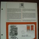 Navajo Art American Indians 1986 Postal Commemorative Society First Day Cover Sheet