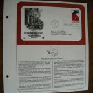Republic of Texas Sesquincentennial 1836 - 1986 Postal Commemorative Society First Day Cover Sheet