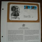 Polar Explorers - Stefansson Peary Henson 1986 Postal Commemorative Society First Day Cover Sheet