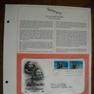 Polar Explorers - Kane and Greely 1986 Postal Commemorative Society First Day Cover Sheet