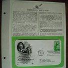 Honoring Bobby Jones Golfing Legend 1981 Postal Commemorative Society First Day Cover Sheet