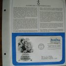 Combat Alcoholism 1981 Postal Commemorative Society First Day Cover Sheet